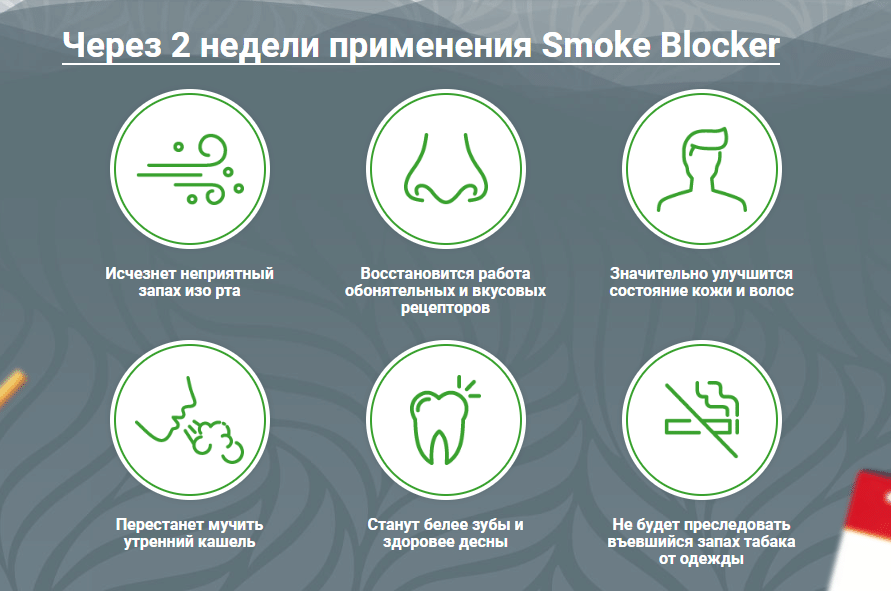 Капли Smoke Blocker